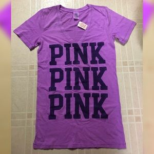 Victoria's Secret PINK Purple T-Shirt